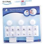 roynoy   12+3 Set   Kindersicherung Schubladen und Schrank   Magnetische Kindersicherung unsichtbar   Baby Schubladensicherung ohne Bohren