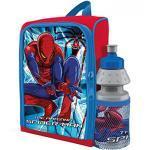 Rucksack 28 x 26 x 11 cm und Trinkflasche 35 cl Ultimate Spiderman