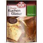RUF Kuchenglasur Haselnuss mikrowellengeeignet, 16er Pack (16 x 100 g)