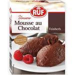 RUF Mousse au chocolat feinherb mit besonders hohem Kakaoanteil, 12er Pack (12 x 100 g)