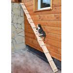 Ruhti - Katzentreppe Katzenleiter Katzenstufe für Balkon, Treppe etc.  1 bis 7 m (1 m)
