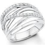 Silberne Elegante s.Oliver Verlobungsringe & Antragsringe glänzend