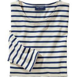 Saint James Herren Bretagne-Shirt beige 3XL, L, M, XL, XXL