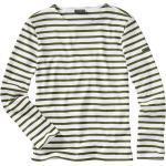 Saint James Herren Bretagne-Shirt Meridien weiß L, M, XL