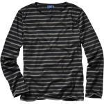 Saint James Herren Bretagne-Shirt schwarz 3XL, L, M, XL, XXL