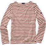Saint James Herren Bretagne-Shirt streifen ecru/rot 3XL, L, M, XL, XXL