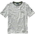 Saint James Herren Bretagne-T-Shirt Gordes gruen L, M, XL, XXL