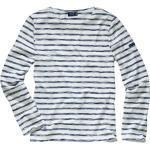 Saint James Herren Scribbled-Bretagne-Shirt weiß L, M, XL