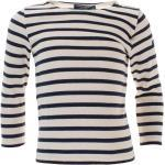 Saint James Langarmshirt »2067« Kinder Unisex Shirt Meridien Modern E mit Streifen aus Baumwolle, blau, Beige-Blau