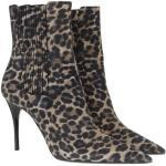 Saint Laurent Boots & Stiefeletten - Lexi Ankle Boots Leather - in fawn - für Damen