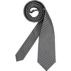 Anthrazitfarbene Yves Saint Laurent Seidenkrawatten für Herren