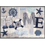 Salonloewe Fußmatte Home Maritim braun-beige 50x75 cm