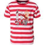 Salt & Pepper T-Shirt »T-Shirt mit reflektierendem Druck für Jungen«, rot, rot