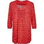 Samoon Bluse - Damen - rot gemustert jetzt im Angebot