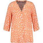 SAMOON Bluse in Orange   Größe 48