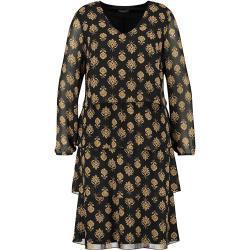 SAMOON Kleid in Schwarz | Größe 40