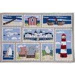Sander Tischset im 2er-Pack Ocean View blau 32x48 cm