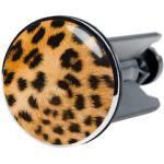Sanilo Waschbeckenstöpsel Leopardenfell, Ø 4 cm braun Badaccessoires