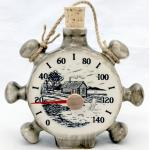 Sauna Keramik Thermometer Kork Bootle