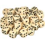 scarlet products Motorikwürfel, Würfelset »Casino 50« mit 50 Augenwürfeln, Spielwürfel aus umweltfreundlichem Acryl, Standardgröße für 6-seitige Würfel