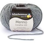 Schachenmayr Handstrickgarne Merino Extrafine 120, 50G Medium Grey Heather