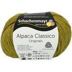 Schachenmayr Handstrickgarne Schachenmayr Alpaca Classico, 50G Apfelgrün