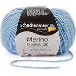 Schachenmayr Merino Extrafine 120 9807552-00152 hellblau Handstrickgarn, Schurwolle