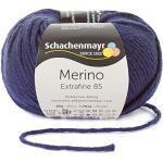 Schachenmayr Merino Extrafine 85 9807554-00250 marine Handstrickgarn, Schurwolle