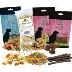 Schecker - Snack Testpaket, Hundedrops, Hundekekse, Kauknochen