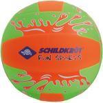 Schildkröt Neopren Beach Ball XL, riesiger Wasserball, Ø 35 cm, mit Wasserballventil, Jumbo Ball im Volleyballdesign, 970189