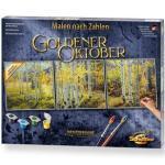 SCHIPPER 609470829 Malen nach Zahlen - Goldener Oktober (Triptychon)
