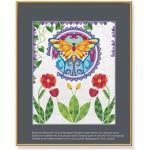 SCHIPPER 609480748 MNZ - Malen nach Zahlen Relax & Color - Schmetterling