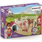 SCHLEICH 42458 Horse Club Hannahs Gastpferde mit Hündin Ruby