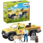Schleich Tierarztbesuch auf dem Bauernhof Spiel-Set, Thema: Farm World
