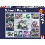 Schmidt Spiele 58366 Blumenbouquet 500 Teile Puzzle