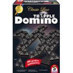 Schmidt Spiele Familienspiel Zuordnungsspiel Tripple Domino mit großen Spielsteinen 49287