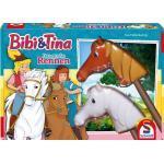 Schmidt Spiele Kinderspiel Aktionsspiel Das große Rennen Bibi & Tina 40577