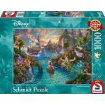 Schmidt Spiele Puzzle Thomas Kinkade Disney Peter Pan 1000 T