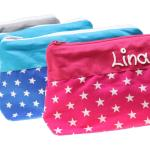 Schminktäschchen Sterne Mit Namen Kulturtasche Beauty Bag Waschtasche Kulturbeutel Kosmetiktäschchen Personalisiert Für Frauen Mädchen