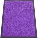 Schmutzfangmatte EAZYCARE UNIQ waschbar LxB 600 x 400 mm lila