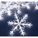 Schneeflocken Lichtervorhang