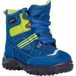 Blaue Superfit Gore Tex Kinderschuhe mit Schnürsenkel Wasserdicht für den Winter