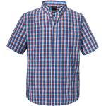 Schöffel Kurzarmhemd Kuopio2 blau/rot Herren