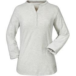 Schöffel Longsleeve Johannesburg L Grau, Damen T-Shirts, Größe 46 - Farbe White Alyssum %SALE 25%