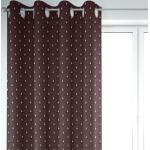 SCHÖNER LEBEN. Vorhang » Vorhang Art Deco Fächer Retro rot schwarz goldfarbig 245cm oder Wunschlänge«, Ösen (1 Stück), handmade, made in Germany, Ösen