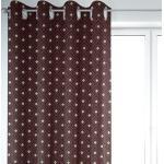 SCHÖNER LEBEN. Vorhang » Vorhang Art Deco Rauten Retro rot schwarz goldfarbig 245cm oder Wunschlänge«, Ösen (1 Stück), handmade, made in Germany, Ösen