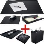 Schreibtisch-Set »Cintano S« schwarz, Sigel