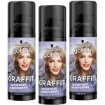 Schwarzkopf Got2b Graffiti Spray Haarfarbe Cupcake Lila 3er Pack