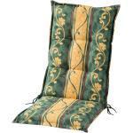 Schwienhorst Hochlehnerauflage Sonate ¦ grün ¦ Druckstoff, 75% Baumwolle, 25% Polyester