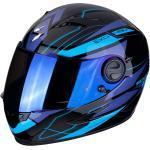 Scorpion Helm EXO-490 NOVA black-blue